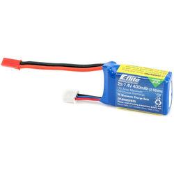 E-flite 400mAh 2S 7.4V 30C LiPo JST Battery