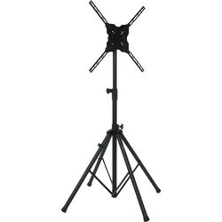 """Gator Cases Deluxe Quadpod A/V Stand for Displays up to 65"""" (Black)"""