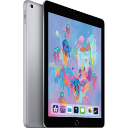 "Apple 9.7"" iPad (Early 2018, 128GB, Wi-Fi Only, Space Gray)"