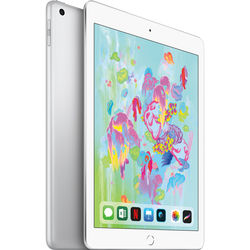 "Apple 9.7"" iPad (Early 2018, 128GB, Wi-Fi Only, Silver)"