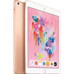 "Apple 9.7"" iPad (Early 2018, 128GB, Wi-Fi Only, Gold)"