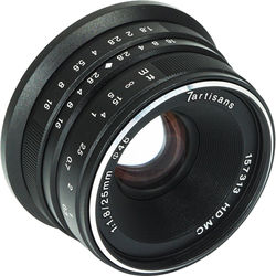 7artisans Photoelectric 25mm f/1.8 Lens for Micro Four Thirds (Black)