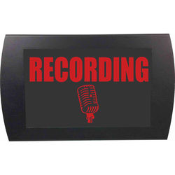 American Recorder RECORDING - LED Indicator Sign (Red)
