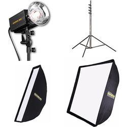 Novatron M500 2-Monolight Kit with Softboxes