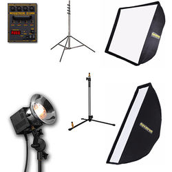 Novatron 1000D 3-Head Kit with 2 Softboxes