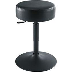 K&M 14092 Keyboard/Piano Stool with Pneumatic Lift (Black)