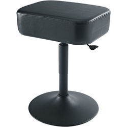 K&M 14093 Piano Stool with Pneumatic Spring (Black)