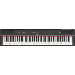 Yamaha P-125 88-Note Weighted Action Digital Piano with GHS Action (Black)