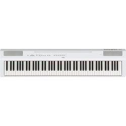 Yamaha P-125 88-Note Weighted Action Digital Piano with GHS Action (White)