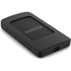 Glyph Technologies Atom RAID 4TB USB 3.1 Type-C External SSD (2 x 2TB, Black)