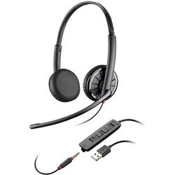 Plantronics Blackwire 325 USB Binaural On-Ear Headset for Standard UC Applications