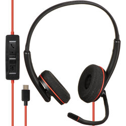 Plantronics Blackwire 3220 USB Type-C Corded Stereo UC Headset
