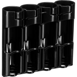 STORACELL Battery Caddy for 18650 Batteries (Tuxedo Black)