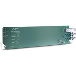 AJA openGear 1-Channel 3G-SDI/LC Multi-Mode LC Fiber Transceiver