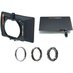 Bright Tangerine MISFIT ATOM 2-Stage Matte Box Kit with Three Clamp-On Rings