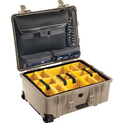 Pelican 1560SC Studio Case (Desert Tan V2)