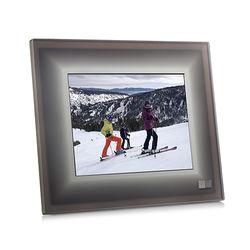 "Aura Frames 9.7"" Smart Frame (Charcoal with Metal Trim)"