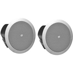 JBL Control 24CT Ceiling Speaker for use with 70/100V Audio Distribution - Pair