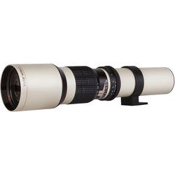 Vivitar 650-1300mm f/8 Telephoto Zoom Lens for T-Mount (White)
