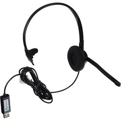 Nuance HS-GEN-C Stereo Communication Headset with Dragon USB Adapter