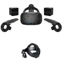 HTC Vive VR Headset & Vive Deluxe Audio Strap Kit