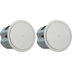 """Tannoy 6"""" Full-Range Ceiling Loudspeaker with Dual-Concentric Driver (Blind Mount, Pair)"""
