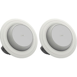 """Tannoy 4"""" Full-Range Directional Ceiling Loudspeaker with Dual Concentric Driver (Blind Mount, Pair)"""