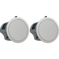"""Tannoy 5"""" Full-Range Ceiling Loudspeaker with Dual Concentric Driver (Blind Mount, Pair)"""