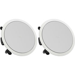 """Tannoy 6"""" Full-Range Ceiling Loudspeaker with Dual Concentric Driver (Pre-Install, Pair)"""