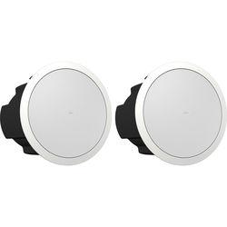 """Tannoy CVS 6 Coaxial EN54-Certified In-Ceiling Loudspeaker (Blind-Mount, 6"""", White, Pair)"""