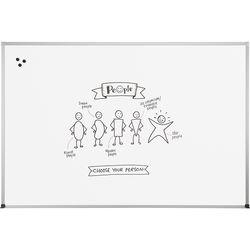 Best Rite Magne-Rite Whiteboard with Aluminum ABC Trim (3 x 4')