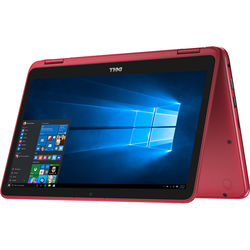 "Dell 11.6"" Inspiron 11 3000 Series Multi-Touch 2-in-1 Notebook (Red)"