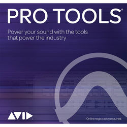 Avid Pro Tools Annual Subscription - Audio and Music Creation Software (Student/Teacher, Boxed)