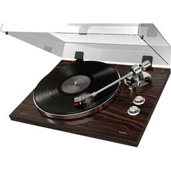 ION Audio Pro500BT Stereo Turntable with USB and Bluetooth (Walnut)