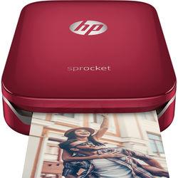 HP Sprocket Photo Printer (Red)