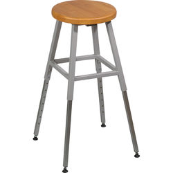 Balt Lab Stool without Back , Model 34419R  (Gray)