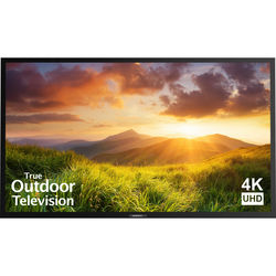 "SunBriteTV 75"" Signature Series 4K Ultra HD Partial Sun Outdoor TV (Black)"