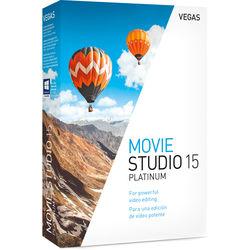 MAGIX Entertainment VEGAS Movie Studio 15 Platinum (Box)