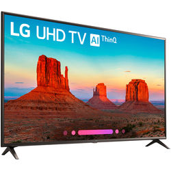 "LG UK6300PUE-Series 65""-Class HDR UHD Smart IPS LED TV"