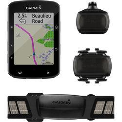 Garmin Edge 520 Plus GPS/GLONASS Cycling Computer Sensor Bundle