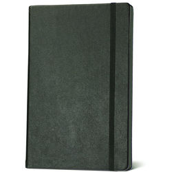 Franklin Mill Faux Leather Ruled Notebook