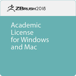 Pixologic ZBrush 2018 (Academic, Download)
