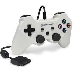 HYPERKIN Brave Warrior Premium Controller for PS2 (White)