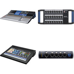 PreSonus StudioLive 32 Series III Digital Mixer with 16x8 Stage Box and Personal Monitor Mixer Kit