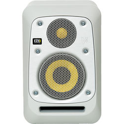 "KRK V4 4"" Powered Studio Monitor (Matt White Noise)"