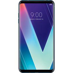 LG V30S ThinQ 128GB Smartphone (Unlocked, Matte Moroccan Blue)