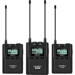 Comica Audio CVM-WM200A 2-Person Camera-Mount Wireless Omni Lavalier Microphone System (520 to 578.5 MHz)