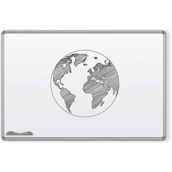 Best Rite Magne-Rite Whiteboard with Silver Presidential Trim (4 x 8')