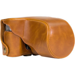 MegaGear Ever Ready Protective Case for Fujifilm X-M1 & X-A1, 16-50 (Light Brown)