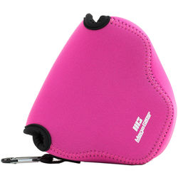 MegaGear MG508 Ultra Light Neoprene Case for Canon PowerShot SX520/SX530 (Hot Pink)